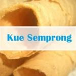 resep kue tradisional semprong