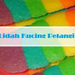 resep kue kering lidah kucing pelangi rainbow   resep kue